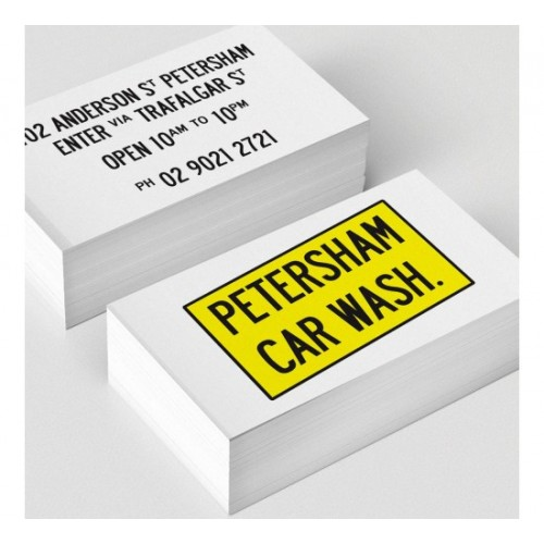 Business cards full colour 2 sides 350gsm gloss laminate 2 sides reheart Gallery